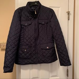 Tommy Hilfiger Puffy Jacket Navy Blue Large